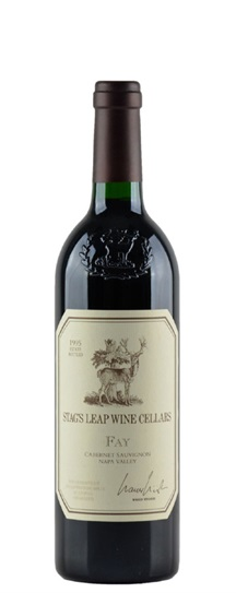 1989 Stag's Leap Wine Cellars Cabernet Sauvignon Fay Vineyard