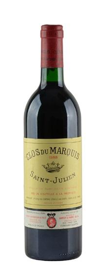 1988 Clos du Marquis Bordeaux Blend