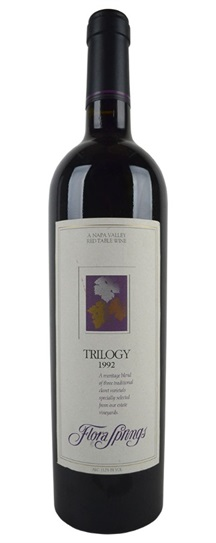 1992 Flora Springs Trilogy Proprietary Red Wine