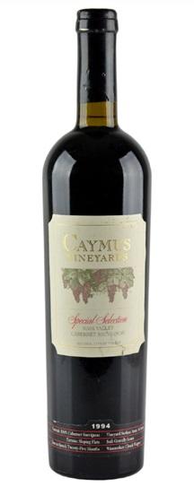 1992 Caymus Cabernet Sauvignon Special Selection