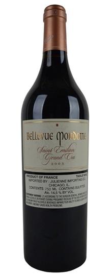 2003 Bellevue Mondotte Bordeaux Blend