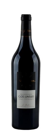 2010 Clos les Lunelles Bordeaux Blend