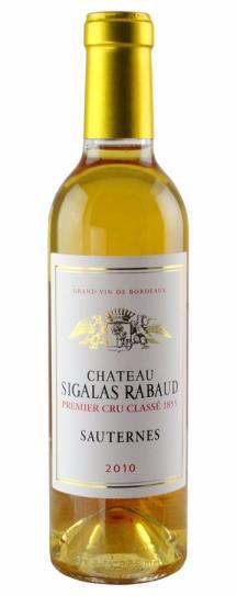 2010 Sigalas Rabaud Sauternes Blend