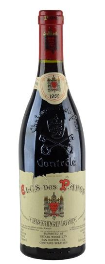 1989 Clos des Papes Chateauneuf du Pape