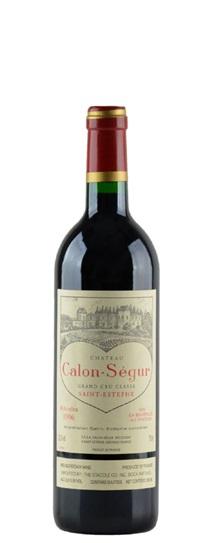 1996 Calon Segur Bordeaux Blend