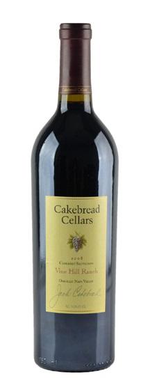 2007 Cakebread Cellars Cabernet Sauvignon Vine Hill Ranch