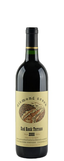 1992 Diamond Creek Cabernet Sauvignon Red Rock Terrace