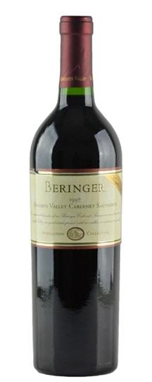 1997 Beringer Cabernet Sauvignon Knights Valley