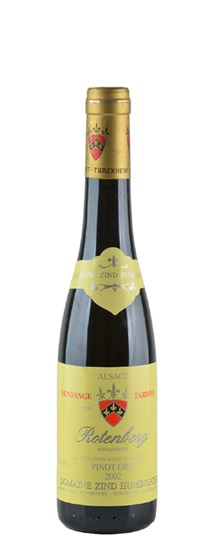 2002 Zind Humbrecht, Domaine Pinot Gris Rotenberg Vendange Tardive