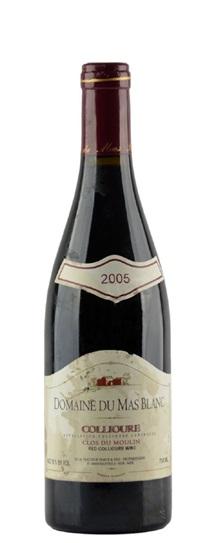 2005 Domaine du Mas Blanc (Dr Parce) Collioure Clos du Moulin