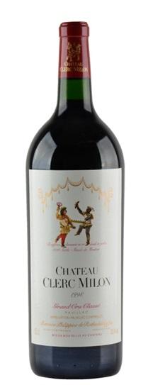1998 Clerc Milon Bordeaux Blend