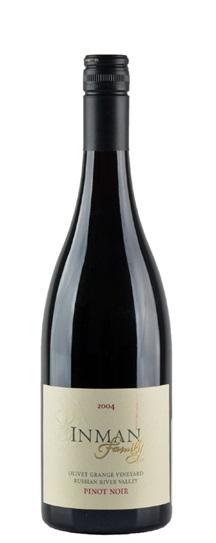 2004 Inman Family Pinot Noir  Olivet Grange Vineyard