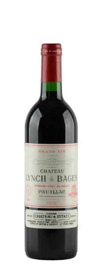 1990 Lynch Bages Bordeaux Blend