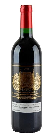 2001 Chateau Palmer Bordeaux Blend