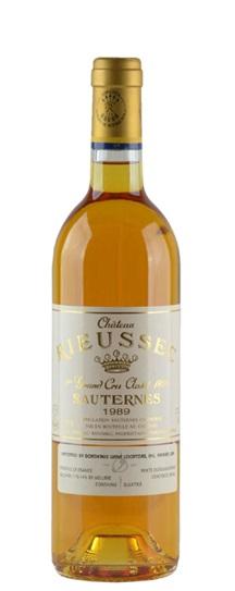 1989 Rieussec Sauternes Blend