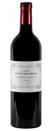 2008 Moulin St Georges Bordeaux Blend
