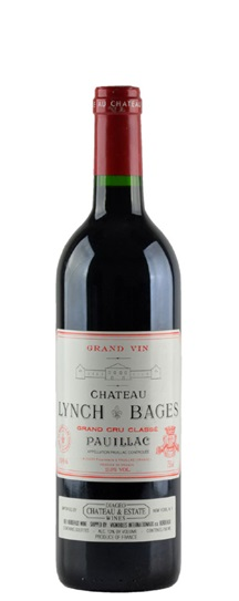 1996 Lynch Bages Bordeaux Blend