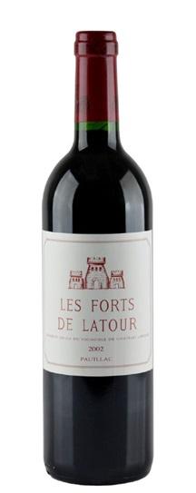 2002 Forts de Latour, Les Bordeaux Blend