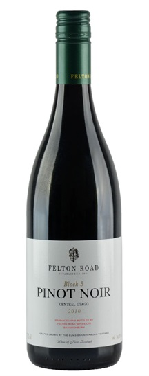 2011 Felton Road Pinot Noir Block 5