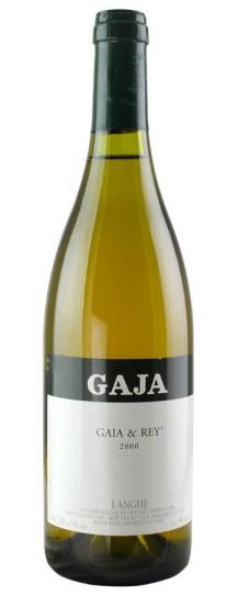 2000 Gaja Chardonnay Gaia and Rey