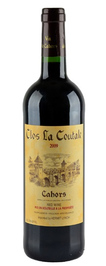 2009 Clos la Coutale Cahors