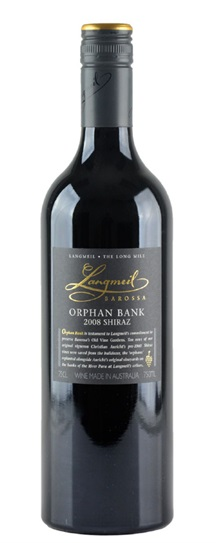 2008 Langmeil Winery Shiraz Orphan Bank