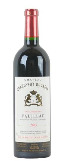 2002 Larcis-Ducasse Bordeaux Blend