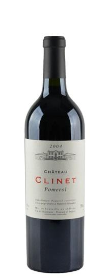 2004 Clinet Bordeaux Blend
