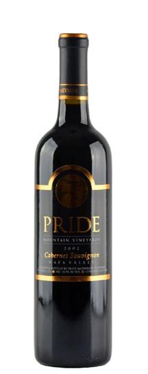 2001 Pride Mountain Vineyards Cabernet Sauvignon