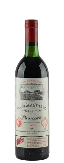 1983 Grand-Puy-Lacoste Bordeaux Blend