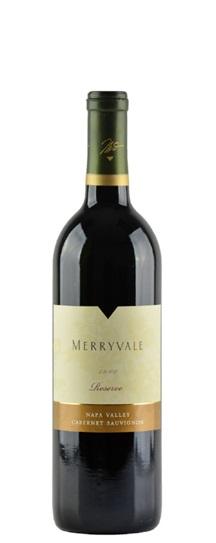 2000 Merryvale Vineyards Cabernet Sauvignon Reserve