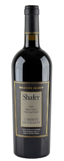 1991 Shafer Vineyards Cabernet Sauvignon Hillside Select