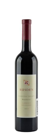 2002 Rusden Cabernet Sauvignon Boundaries