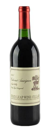 1985 Stag's Leap Wine Cellars Cabernet Sauvignon S.L.V.