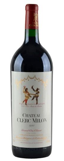 1992 Clerc Milon Bordeaux Blend