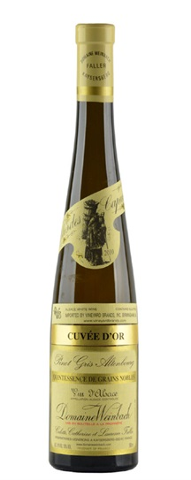 2010 Weinbach, Domaine Pinot Gris Altenbourg Cuvee d'Or Quintessence de Grains Nobles
