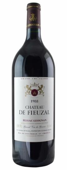 1988 Fieuzal, De Bordeaux Blend