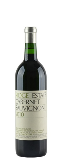 2010 Ridge Estate Cabernet Sauvignon