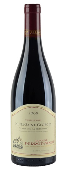 2008 Domaine Perrot-Minot Nuits Saint Georges Premier Cru La Richemone Vieilles Vigne