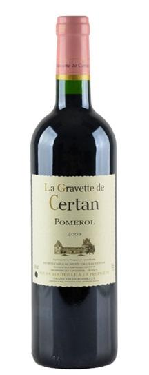2009 La Gravette de Certan Bordeaux Blend
