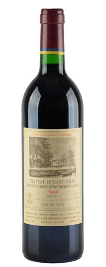 1990 Duhart-Milon-Rothschild Bordeaux Blend