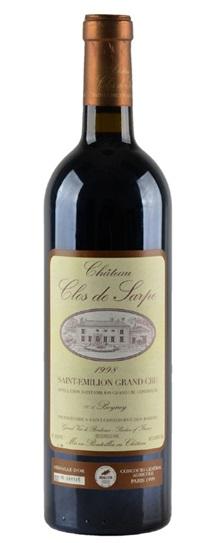 1998 Clos de Sarpe Bordeaux Blend