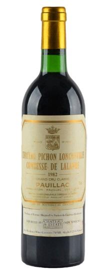 1986 Pichon-Longueville Comtesse de Lalande Bordeaux Blend