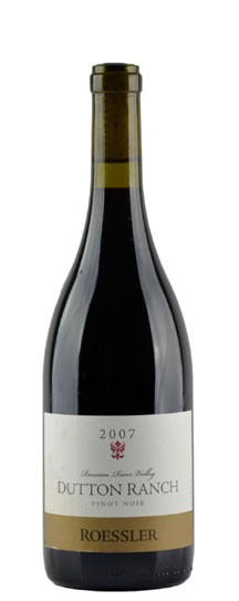 2007 Roessler Cellars Pinot Noir Dutton Ranch