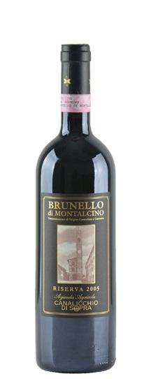 2005 Canalicchio di Sopra Brunello di Montalcino Riserva