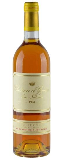 1984 Chateau d'Yquem Sauternes Blend