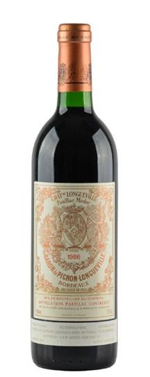 1986 Pichon-Longueville Baron Bordeaux Blend