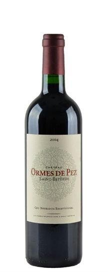 2003 Les Ormes de Pez Bordeaux Blend
