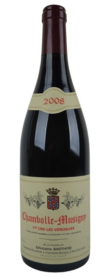 2008 Domaine Ghislaine Barthod Chambolle Musigny les Veroilles