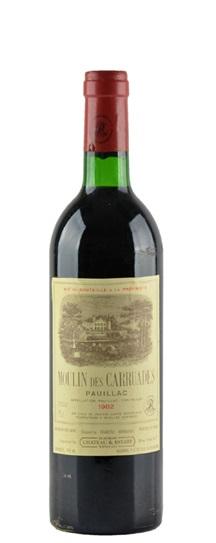 1977 Moulin des Carruades de Lafite Rothschild Bordeaux Blend